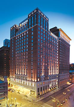 Located Downtown This Historic Saint Louis Hotel Is Just A Short Walk To Upscale Washington Avenue Restaurants Entertainment Nightlife And Close Top