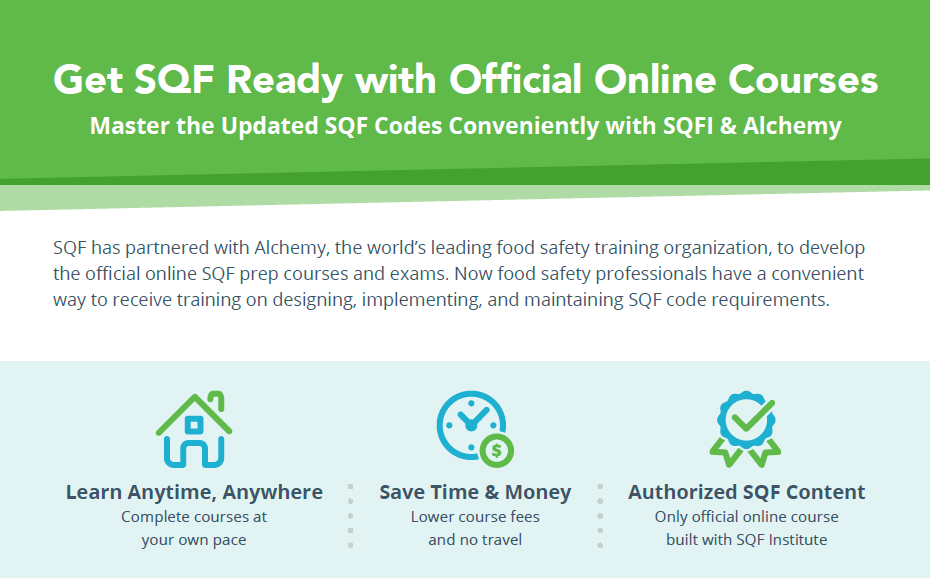Implementing SQF Systems eLearning Course - SQFI