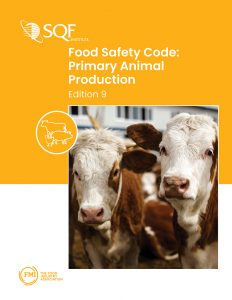 SQF Primary Animal Production 2020 Edition 9